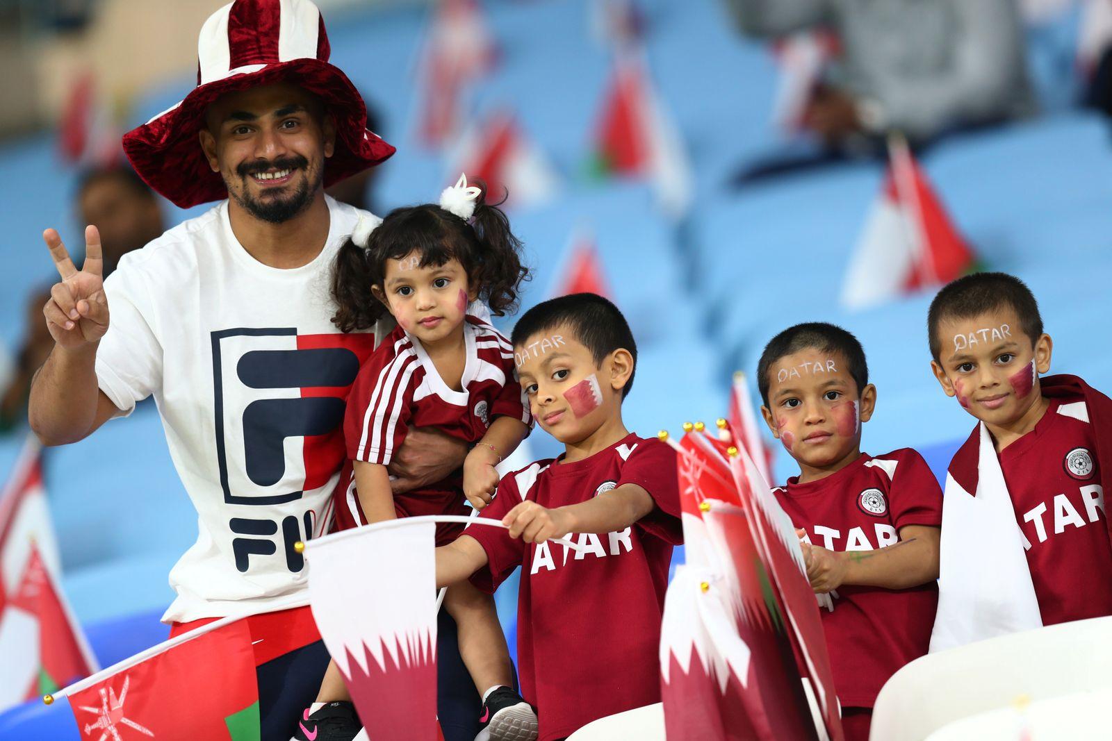 Katar/ Fussball/ Asien Cup 2019/ Fans