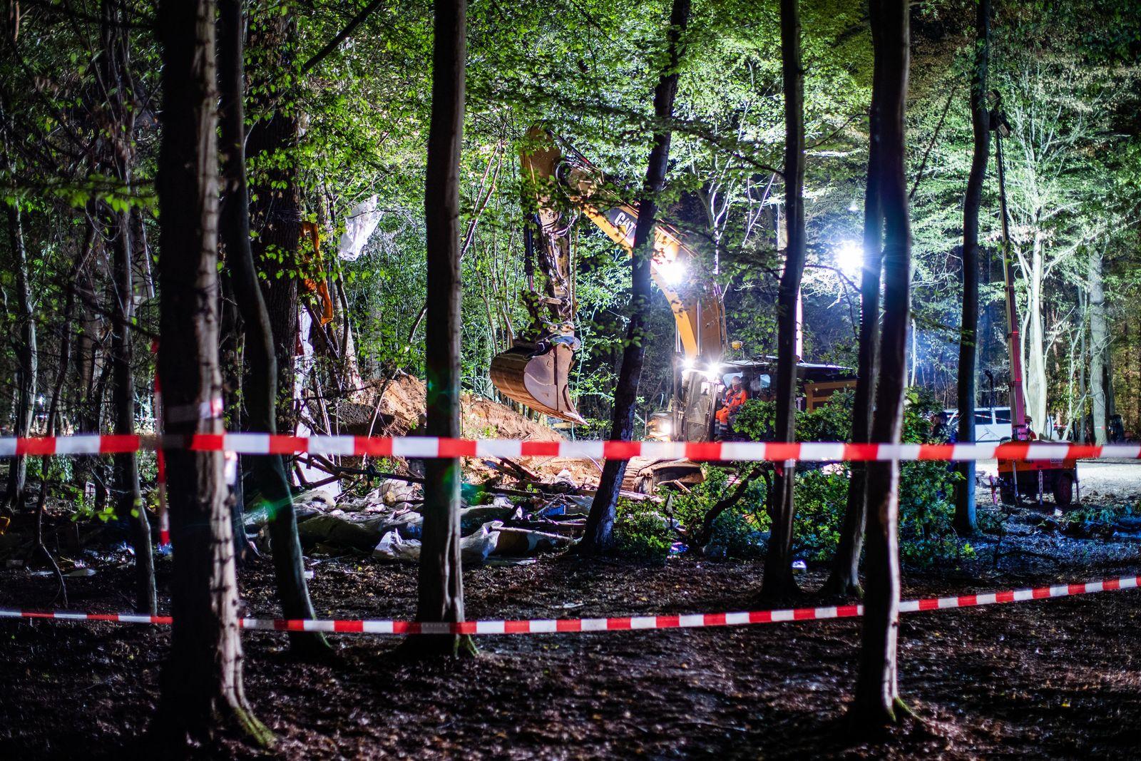 Weitere Entwicklung im Hambacher Forst