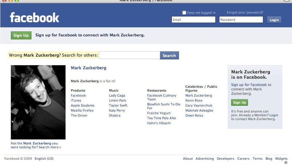 Mark Zuckerberg hat Grund zur Freude: Sein Unternehmenmacht einen Milliarden-Umsatz