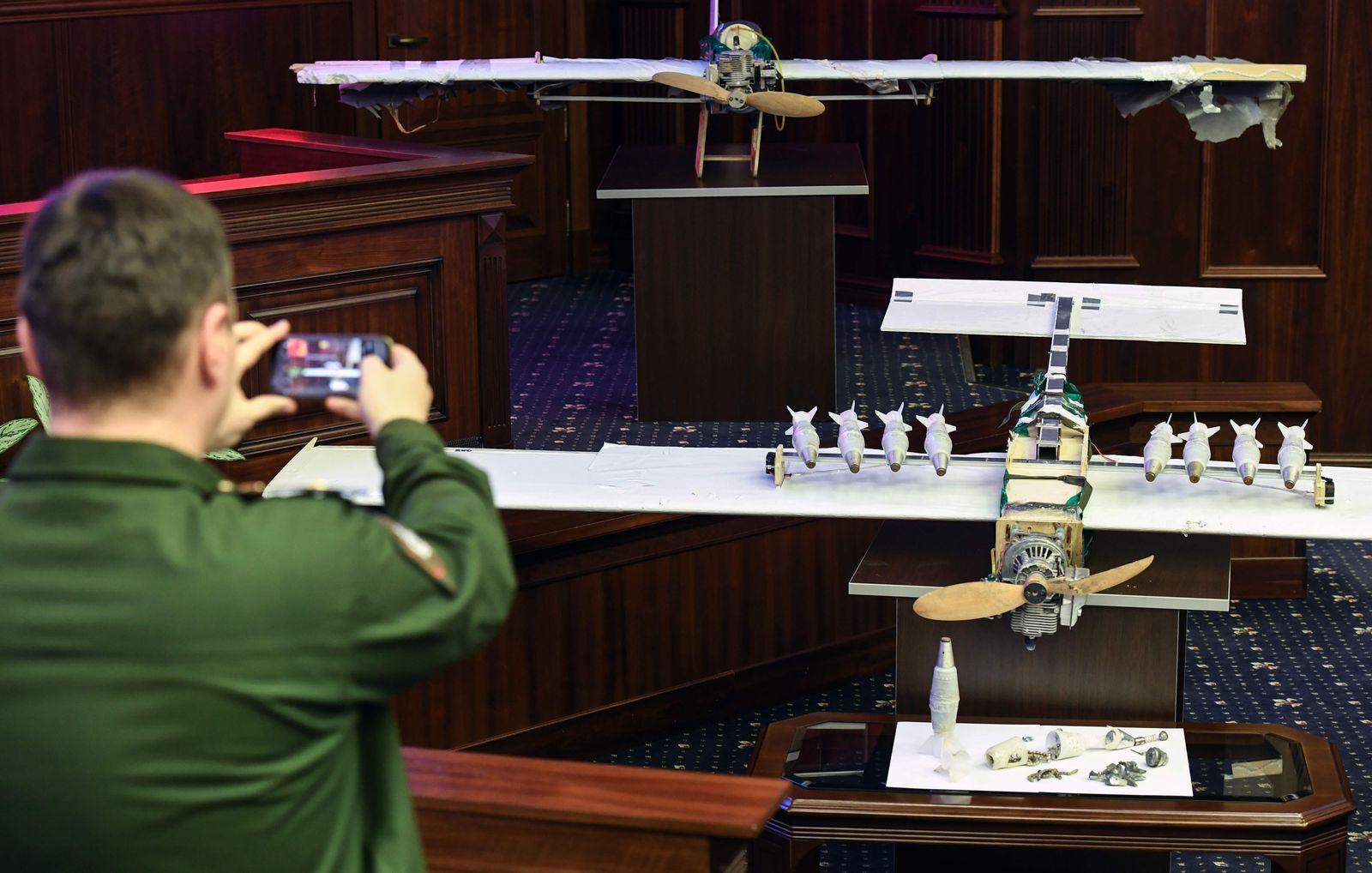 Syrien/ Drohne/ russische Basen