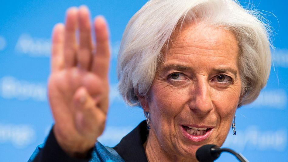 IWF-Chefin Lagarde: Schulden der Ukraine tragfähig machen