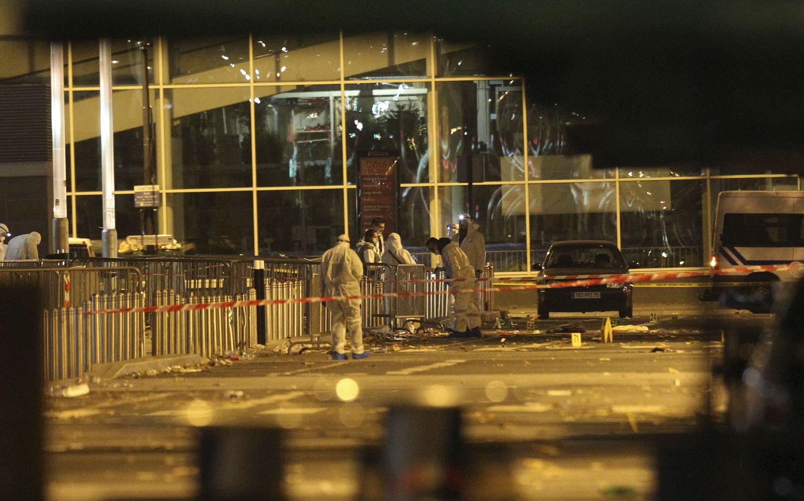 Frankreich/ Paris/ Stadion/ Anschläge 13.11.15/ Stade de France