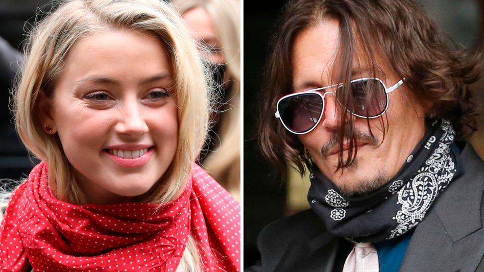 Gegenseitige Vorwürfe: Amber Heard und Johnny Depp