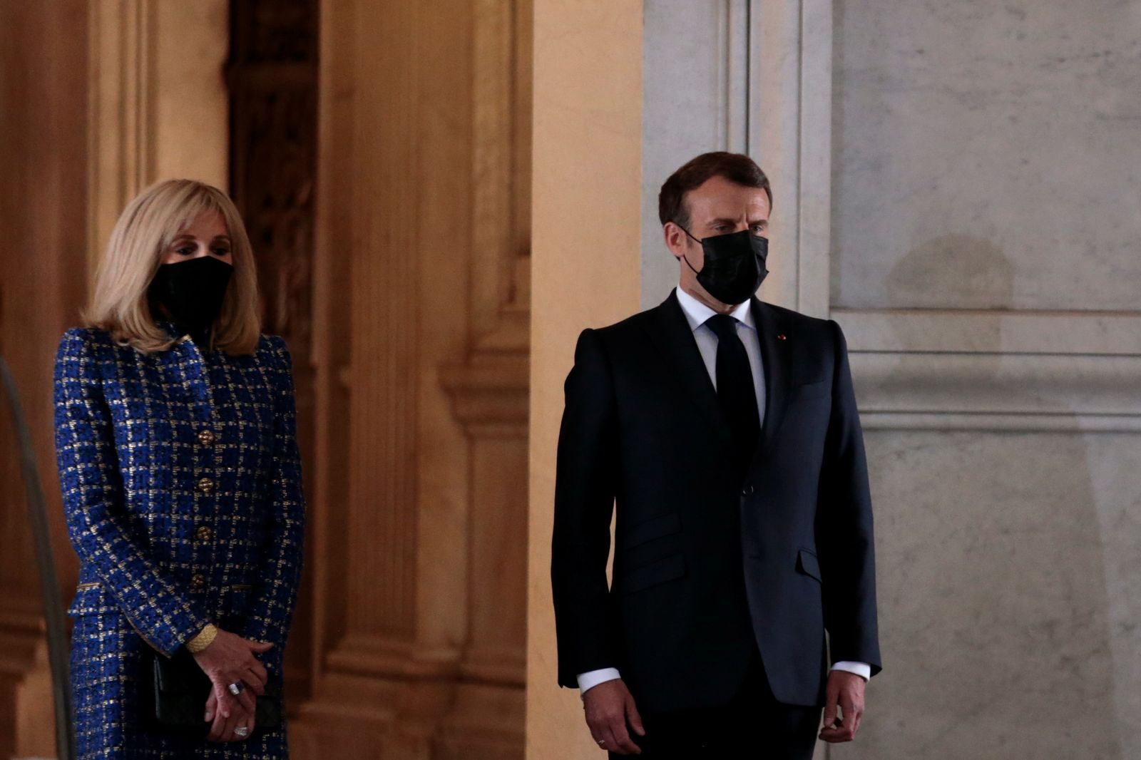 French President Macron heads bicentennial commemoration of Napoleon's death