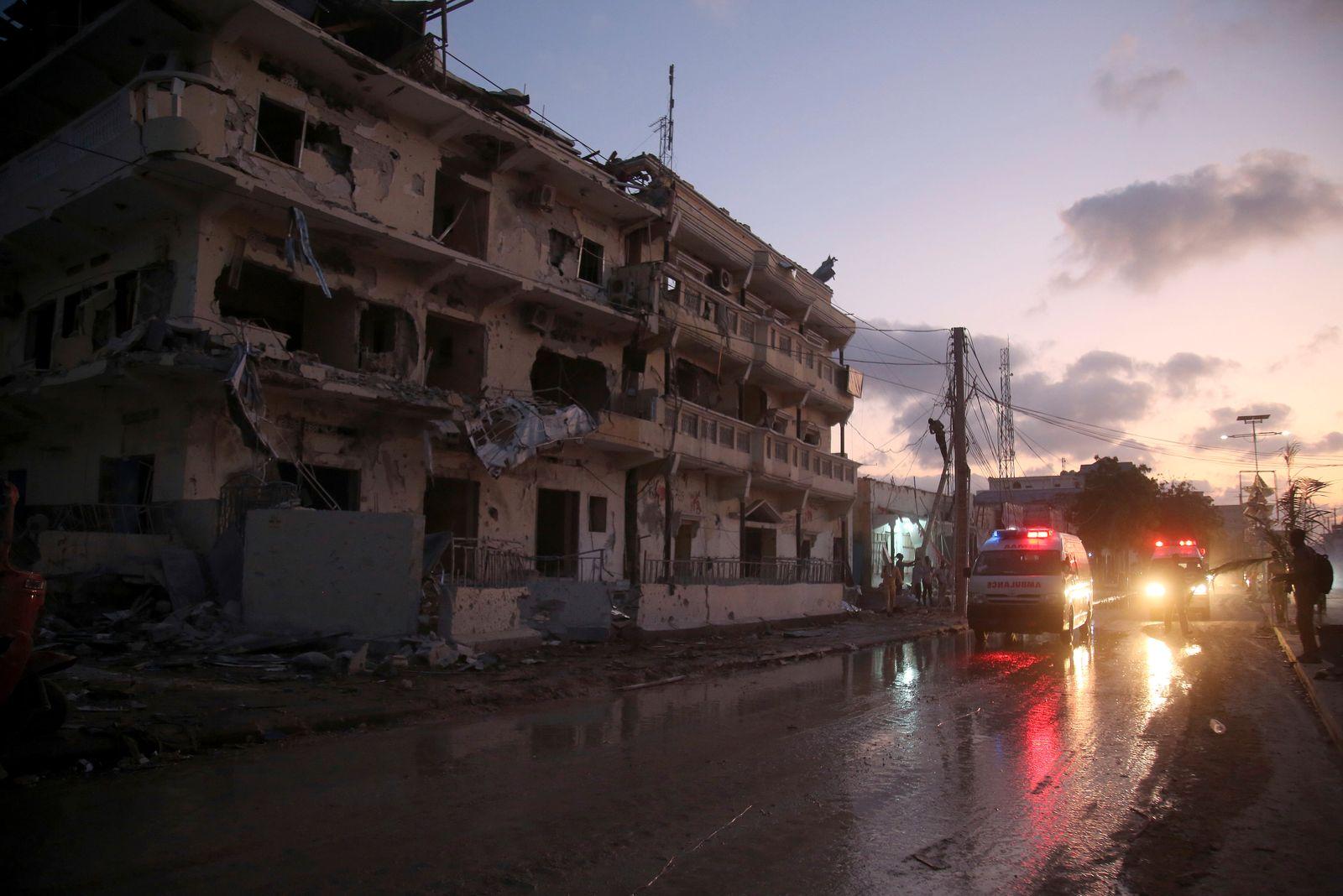 Bomb-laden vehicle attack in Somalia