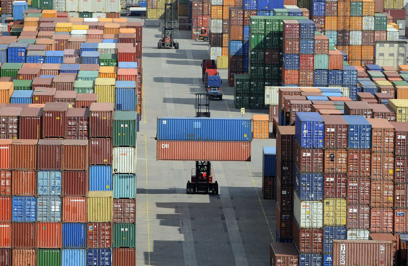 NICHT VERWENDEN Export/Konjunktur/Handel/Hafen/Import/Wachstum