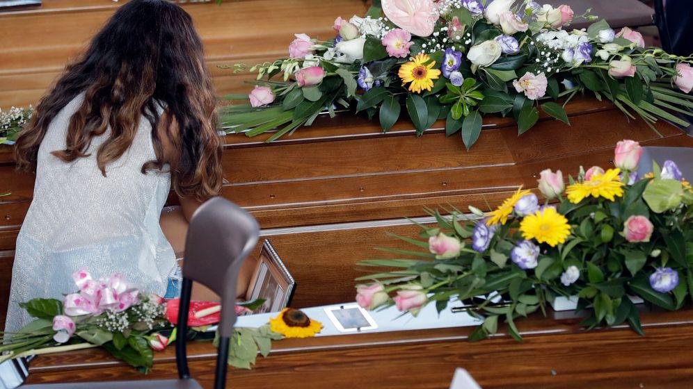 Staatsakt für Erdbebenopfer: Trauer in Ascoli Piceno