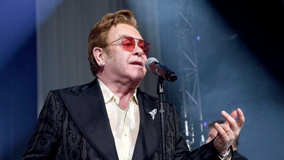 Elton John: »Die Situation ist bereits kritisch«
