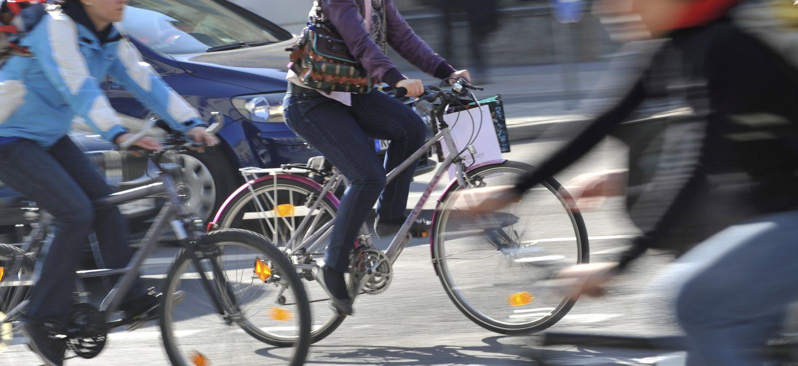 Radfahrer/ Stadtverkehr