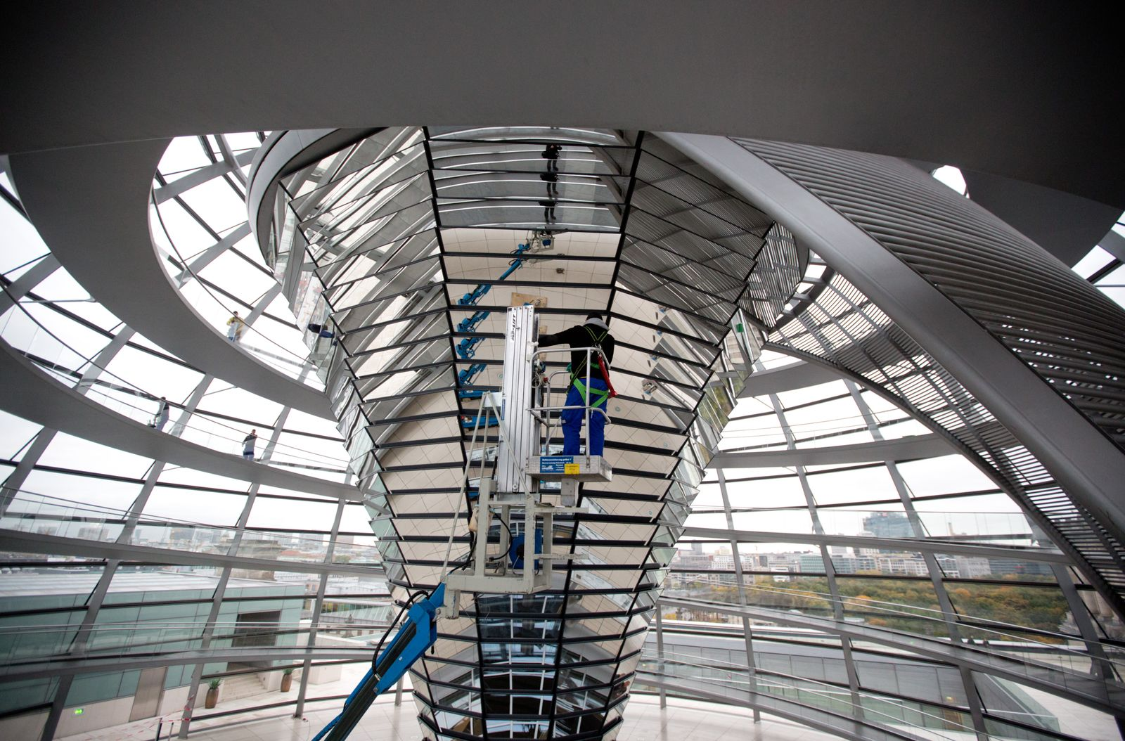 Reichstag / Reinigung