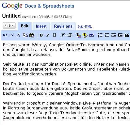 """""""Kein erhebliches Risiko"""": Schwachstellen im Google-Dienst Docs"""