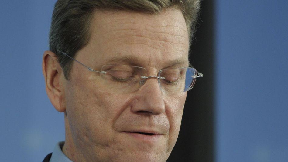 FDP-Chef Westerwelle: Liberale erneut im Umfragetief