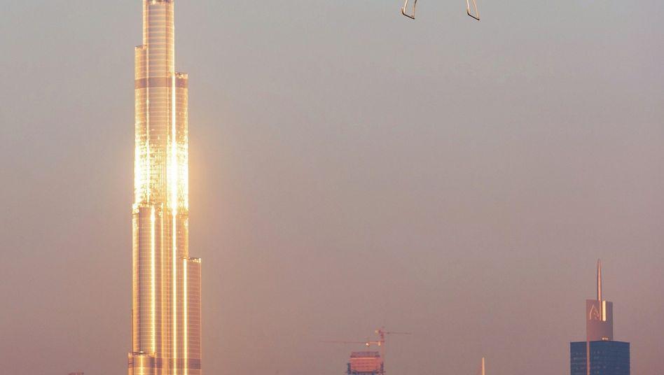 Volocopter beim Jungfernflug in Dubai 2017: »Ein ganz normaler Teil des Nahverkehrs«