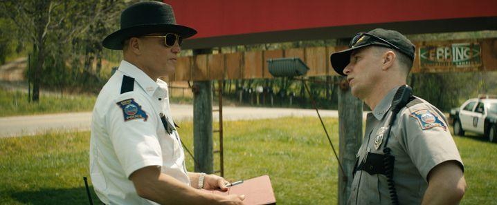 "Szene aus ""Three Billboards Outside Ebbing, Missouri"""