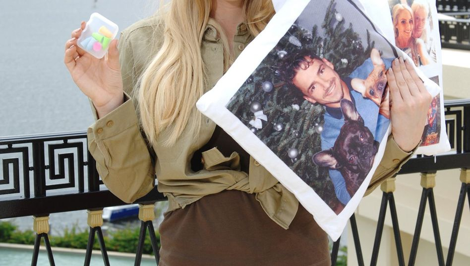 Da war noch alles gut: Angelina Heger vor dem Dschungelcamp