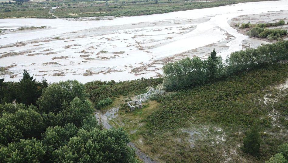 """Flutschäden auf Neuseelands Südinsel: """"Es ist ganz schön traurig hier"""""""
