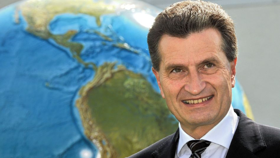 Günther Oettinger: bald in Brüssel