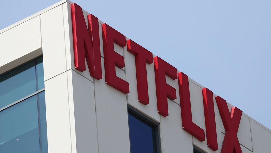 Das Logo des Streaminganbieters Netflix