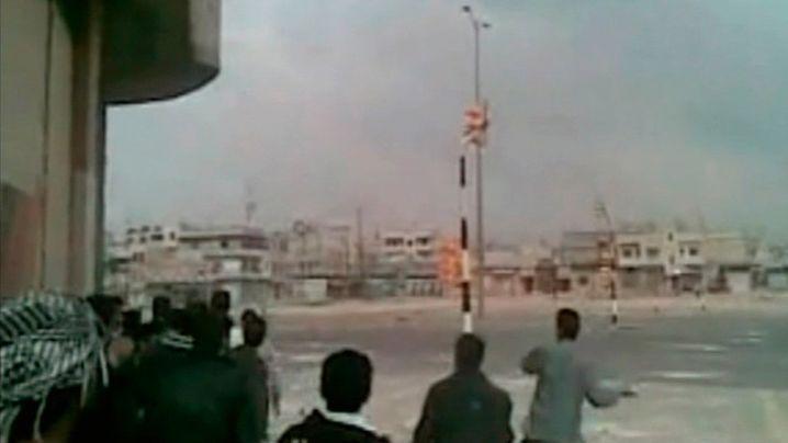 Gewalt in Syrien: Sicherheitskräfte feuern auf Trauerzug