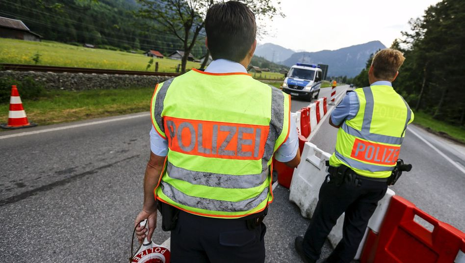 Polizeikontrolle bei Garmisch: Blockaden angekündigt