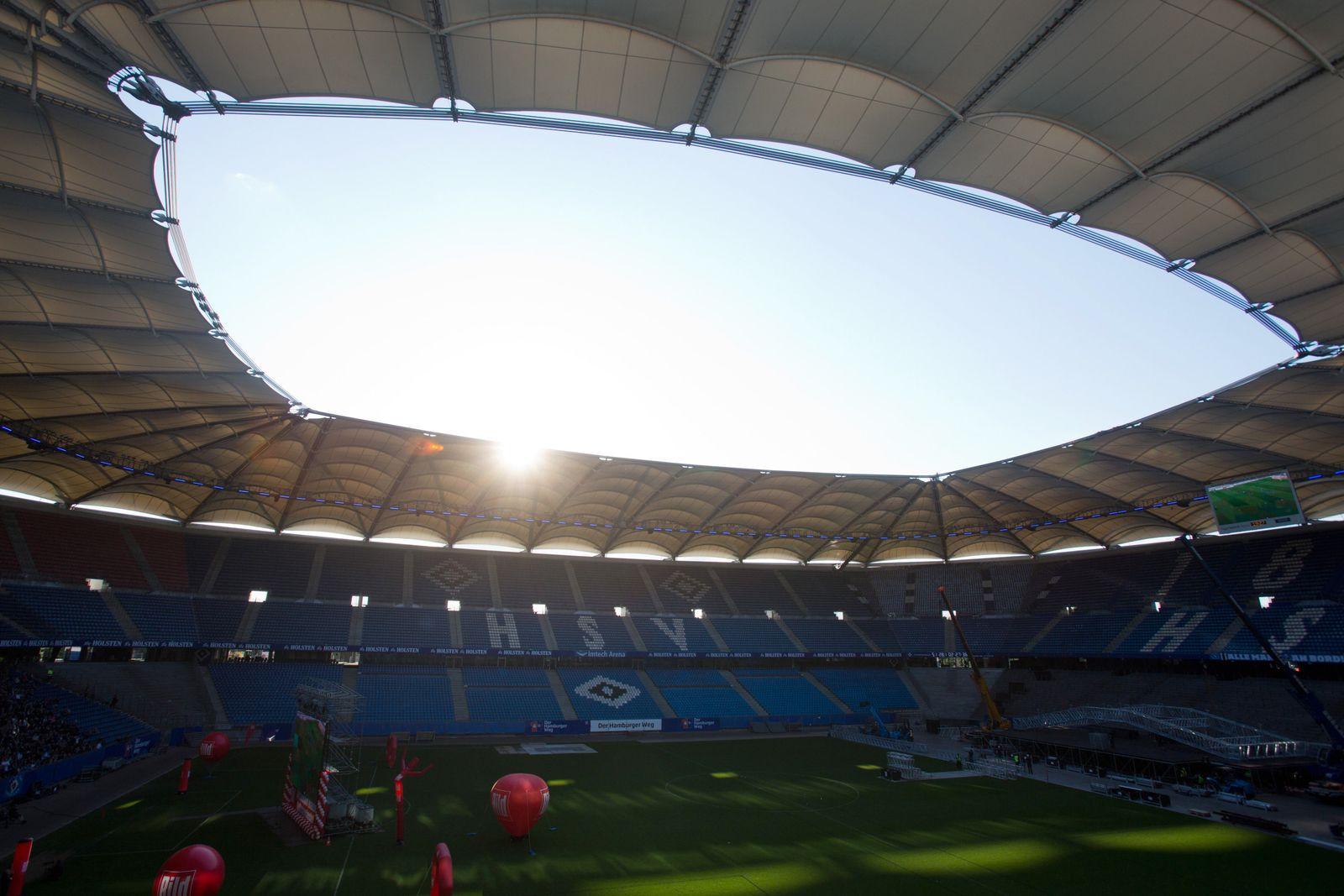Public Viewing beim Relegationsspiel HSV vs Karlruher SV