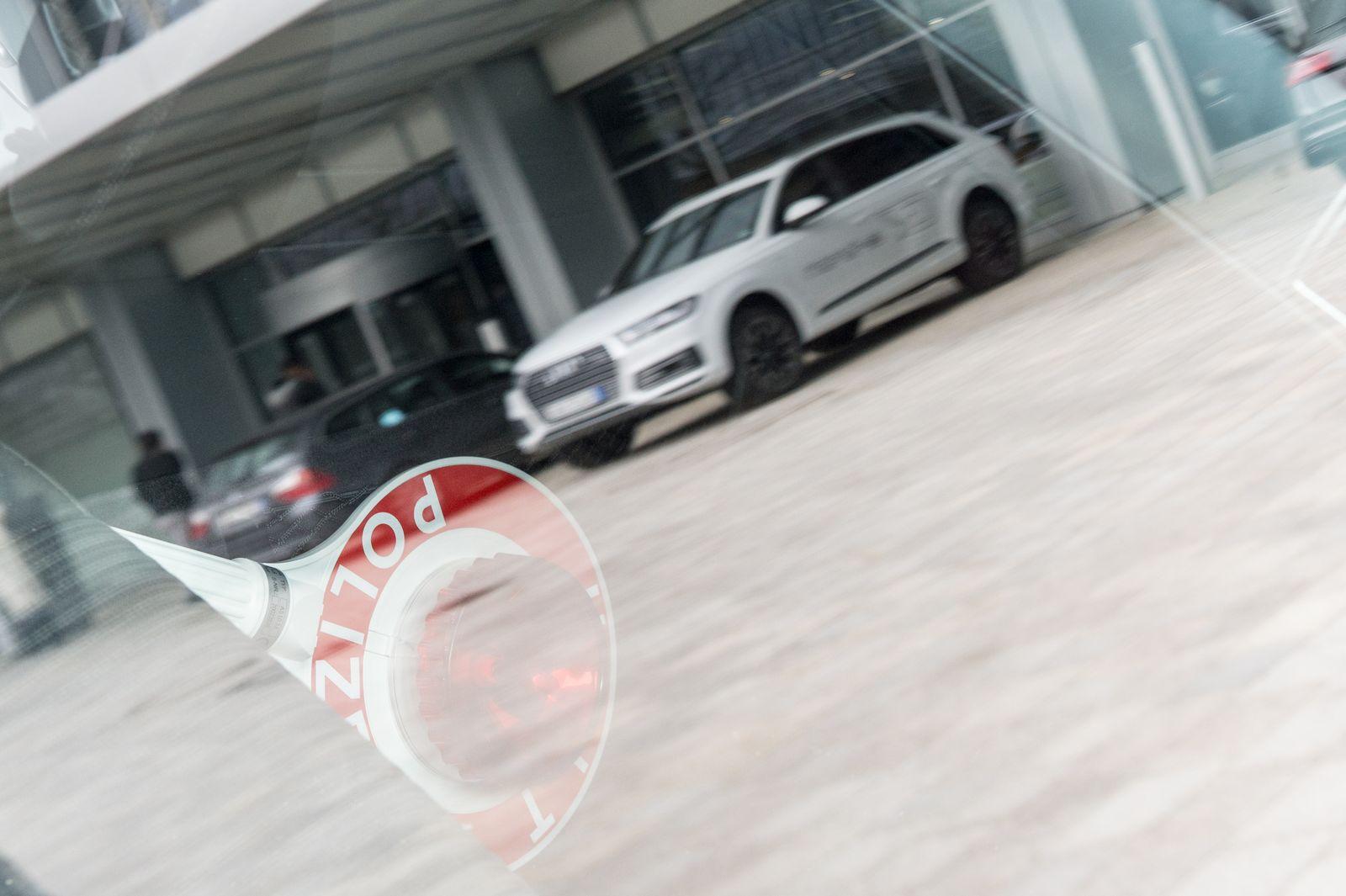 Staatsanwaltschaft München / Audi Büros / durchsuchung