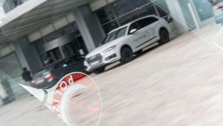 Razzia bei Audi im März 2017 - die Staatsanwaltschaft ermittelt