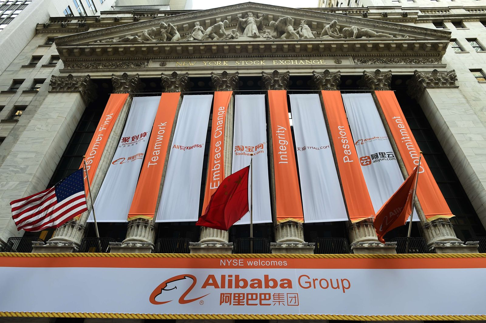 US-CHINA-IT-INTERNET-ALIBABA-IPO