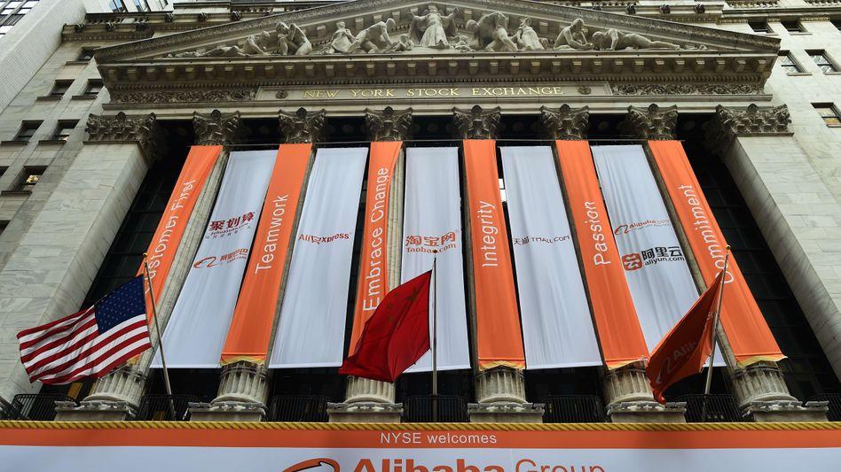 "Börsengang von Alibaba, 19. September: ""Jungfrau-brasilianisches Menschenhaar"""