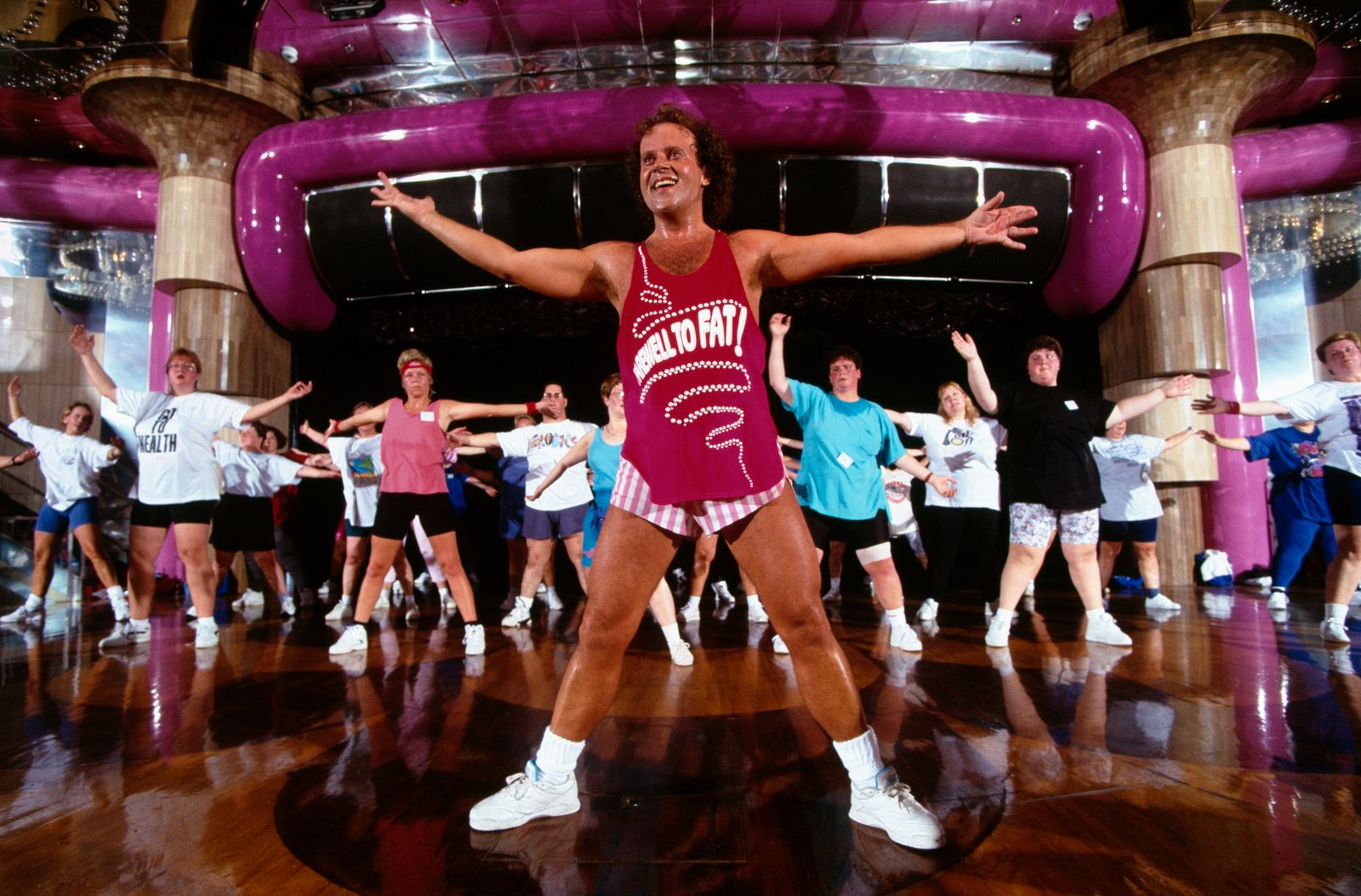 American fitness coach Richard Simmons