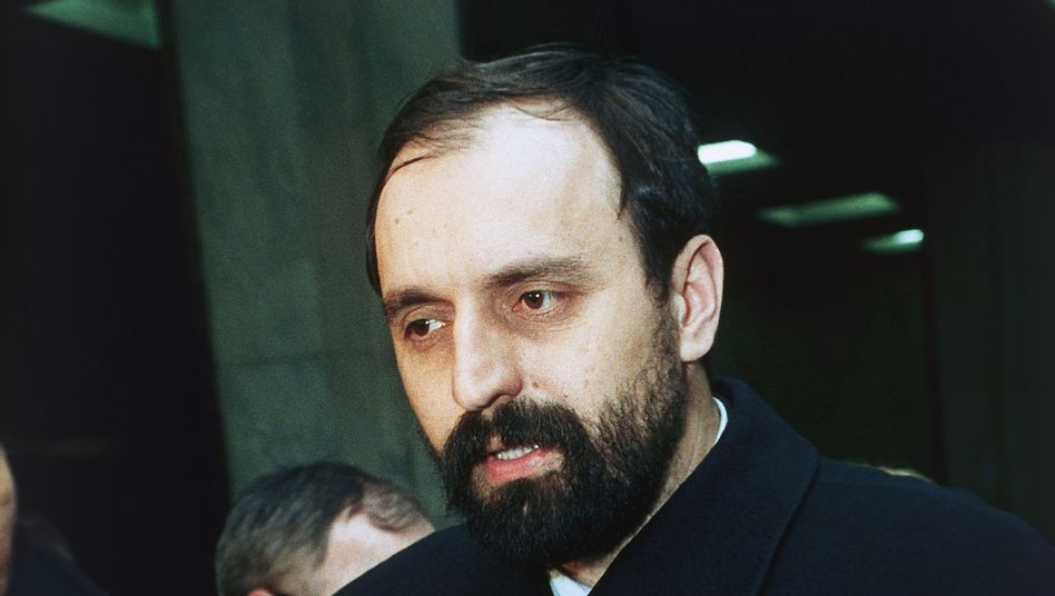 A 1993 image of Goran Hadzic, who was arrested on Wednesday.
