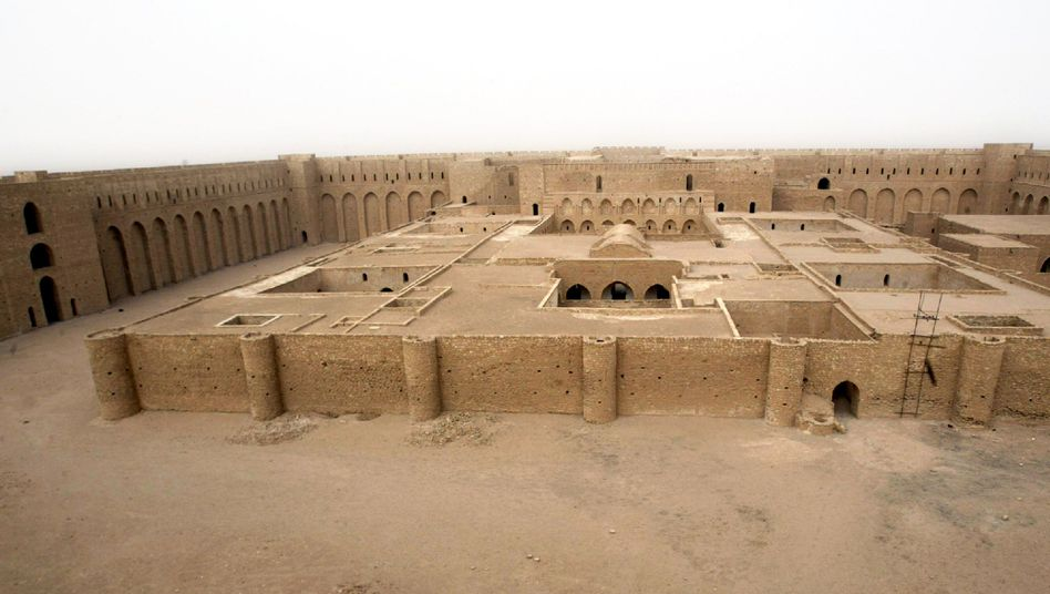 Altes Abbasiden-Schloss Uchaidir im Irak: Die Kalifen liebten Gelage