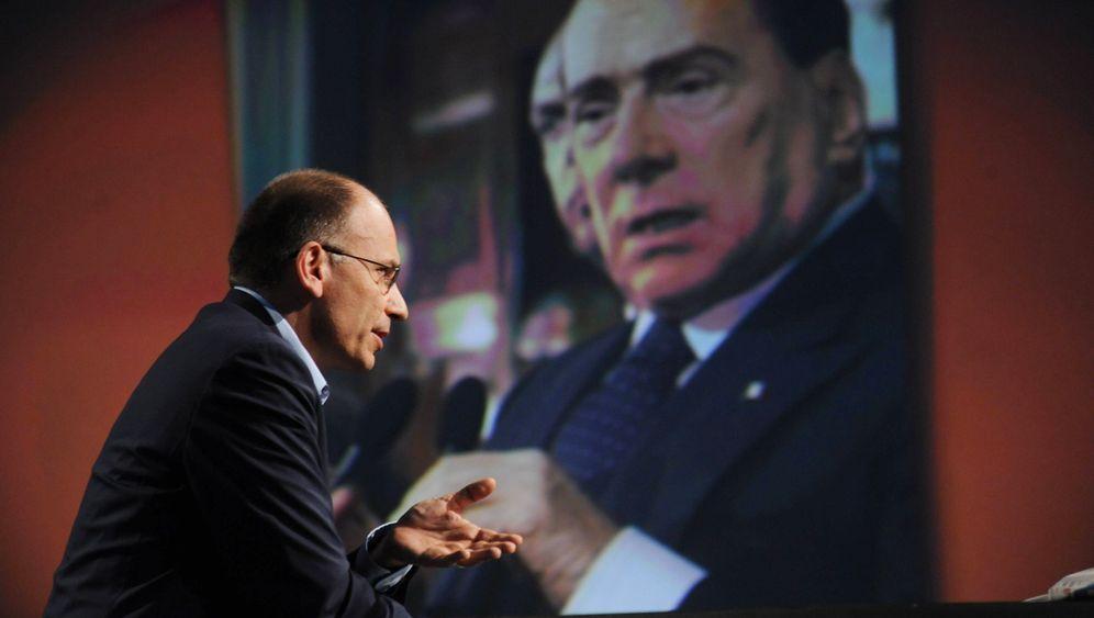 Italien: Das Duell Letta-Berlusconi