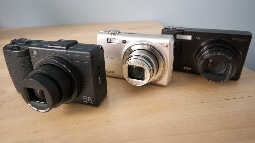 Schmalspur-HDR: Fuji F200EXR und Ricoh CX1