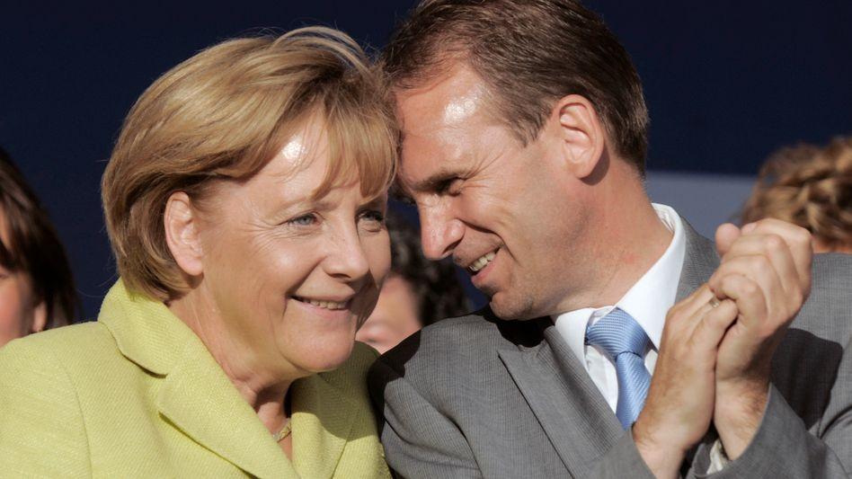 Merkel und Althaus in Erfurt: Dialektischer Gegenschlag