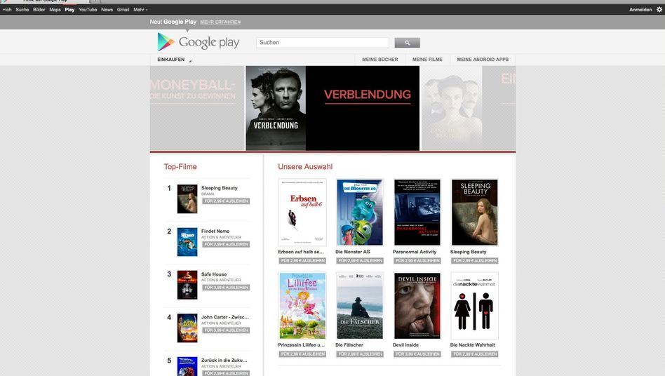 Musik, Filme und Apps: Online-Shops wie Google Play bekommen Abmahnungen
