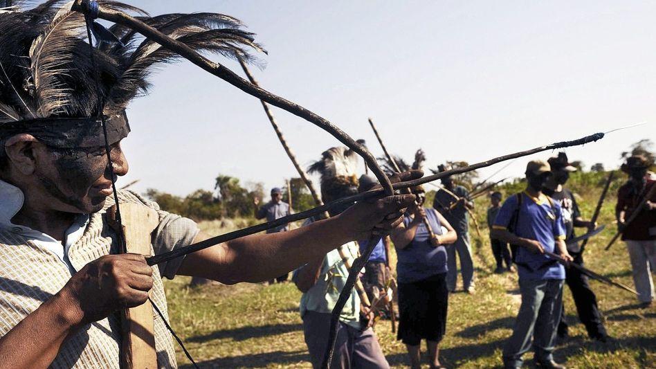 Farm-Besetzer in Mato Grosso do Sul: Angriff im Morgengrauen