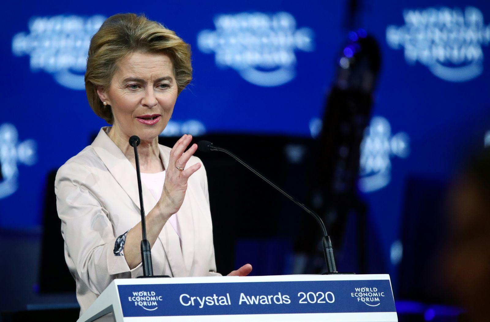 2020 World Economic Forum in Davos