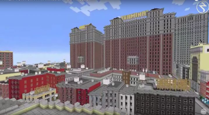 "Backsteinbauten in Manhattan: ""Minecraft""-Bastler bauen New York nach"