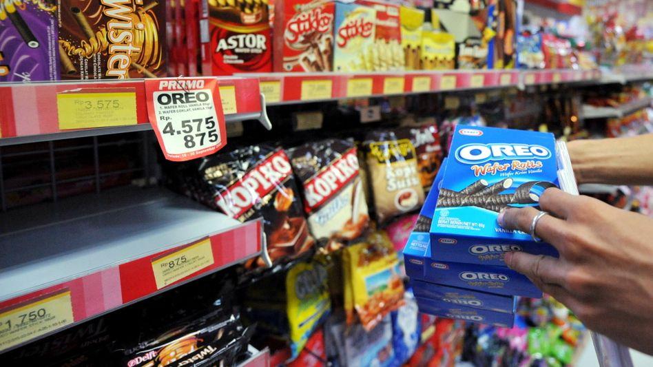Süßigkeiten im Supermarkt: Hersteller nutzen Übergangsfristen