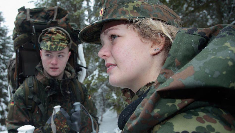 Bundeswehr-Rekruten in Reit im Winkel (Archivbild)