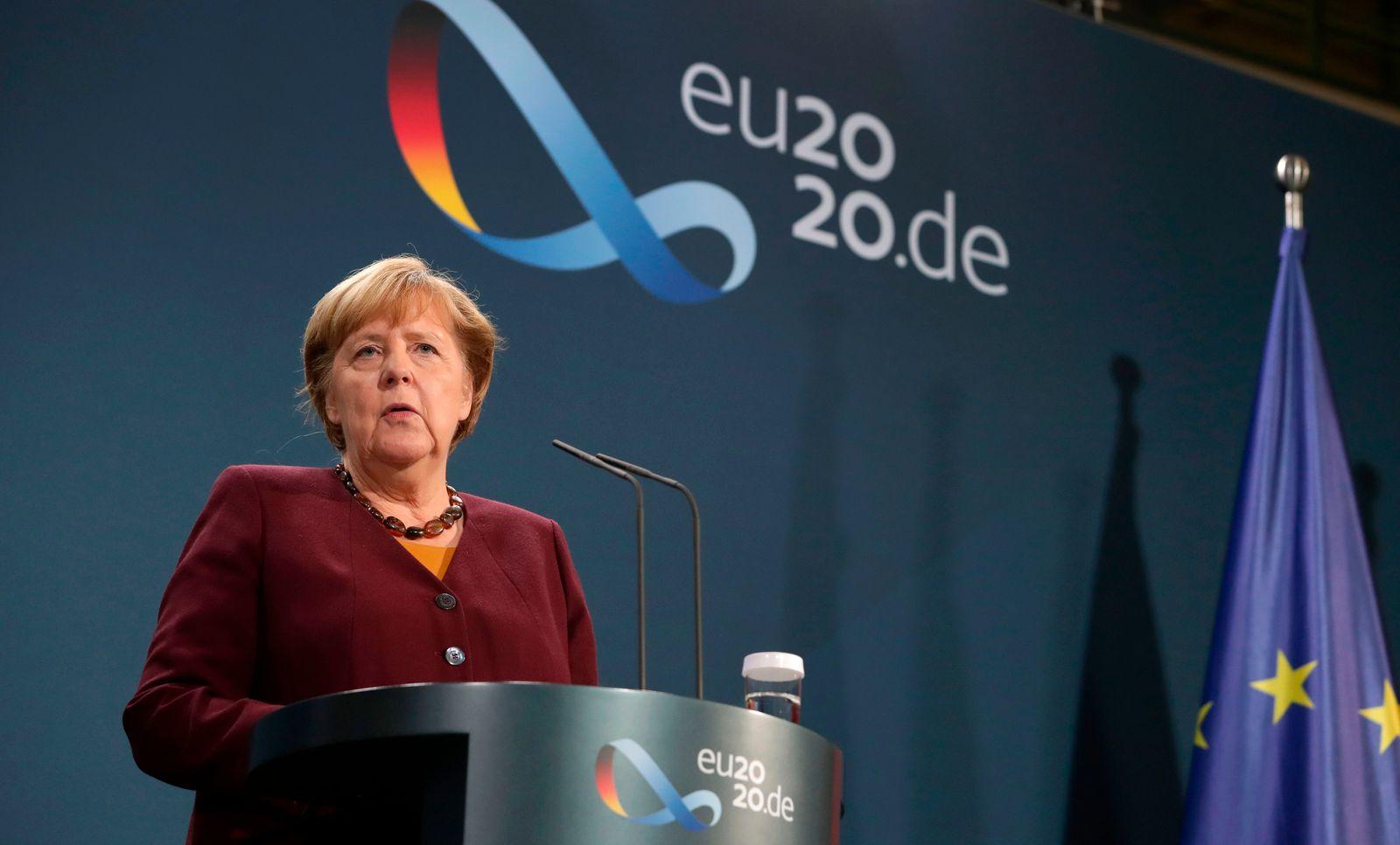 GERMANY-DIPLOMACY-GOVERNMENT-EU-PRESSER