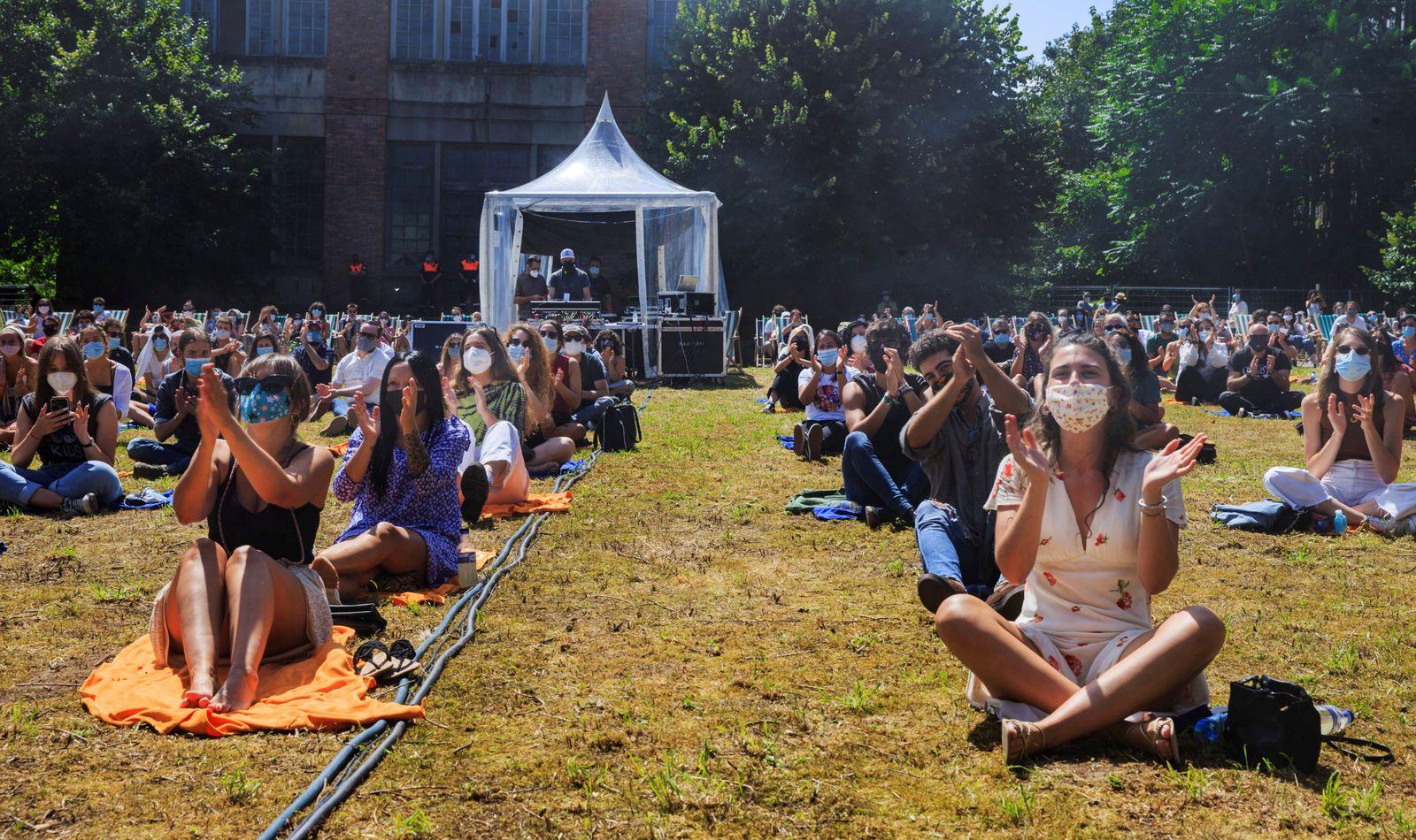 La Fabrica del Vesu music festival in Oviedo, Spain - 22 Aug 2020