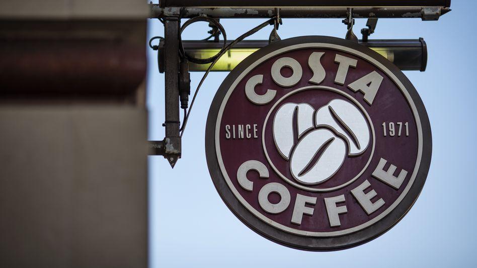 Logo von Costa Coffee in London