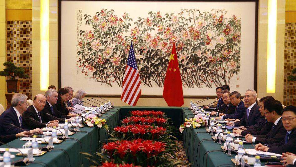 US-Delegation in Peking