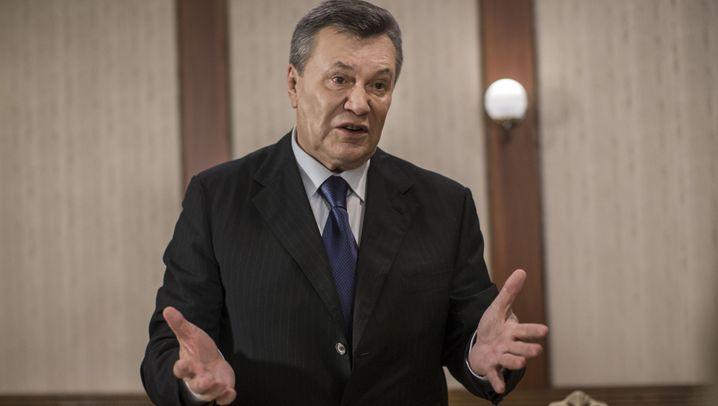 Wiktor Janukowytsch: Ein Mann, viele Ausreden
