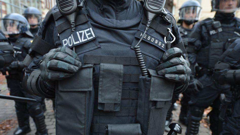 Polizist (Symbolbild)