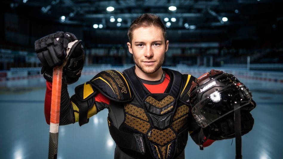 Eishockeynationalspieler Möser: »Zwei Wochen lang durfte ich nicht mal Treppen steigen«