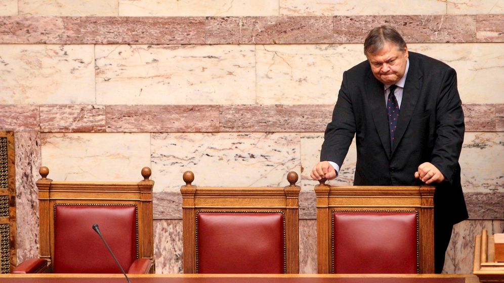 Photo Gallery: The Man in Charge of Greek Austerity