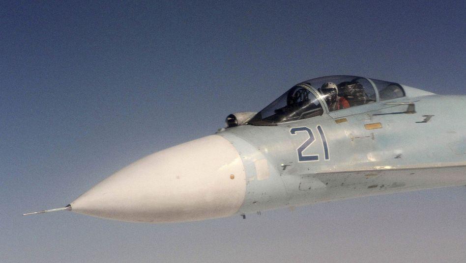 Russischer Kampfjet: Luftwaffe in Westrussland in Kampfbereitschaft versetzt